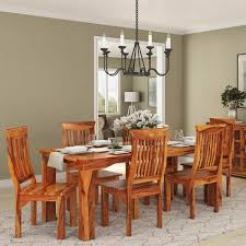 Wood Modern Dining Table Design Idaho Modern Rustic Solid Wood Dining Table Chair Set