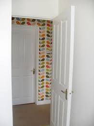 living room orla kiely multi: this looks pretty fantastic love the injection of colour from this orla kiely wallpaper