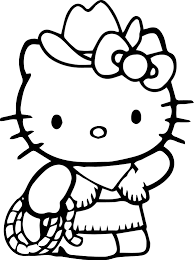 Hello Kitty Coloring Pages | Wecoloringpage