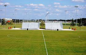 Lake Myrtle Sports Park Auburndale, Florida. There are a total of 11 fields  including the main stadium field. The stadium fi… | Sport park, Sports  marketing, Sports