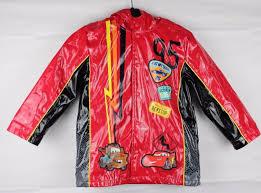 disney toddler toddlers boys kids raincoat jacket red hoo size 5 6