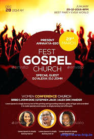 Church Event Flyer A Youth Conference Free Template Word