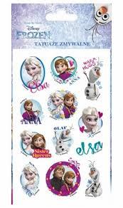 Tetování Disney Frozen Dárky Pro Radost Jiřina Kopuletá