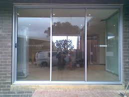 gorgeous 3 panel patio door three panel sliding glass doors photo al home decoration ideas outdoor design inspiration