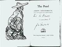 the pearl novel  first edition title page the pearl is a novella by american author john steinbeck