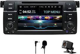 Swtnvin Android 10 0 Auto Audio Stereo Kopfeinheit Passt Für Bmw E46 Dvd Player Radio 7 Zoll Hd Touchscreen Gps Navigation Mit Bluetooth Wifi Lenkradsteuerung 2gb 32gb Amazon De Navigation