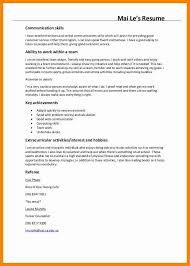 Example Resumes Skills Communication For Resume Examples Ideas