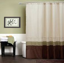 outdoor shower curtain brown brings feeling in your bathroom camping