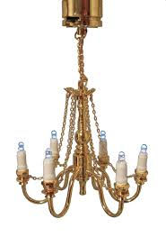 1 12th scale dolls house 3v led grand chandelier