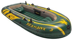 Надувная <b>лодка Intex Seahawk</b>-<b>3</b> — купить по выгодной цене на ...