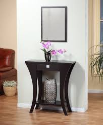 Hallway Console Cabinet Furniture Contemporary Narrow Console Table For Entryway