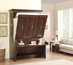 wooden murphy beds with desk