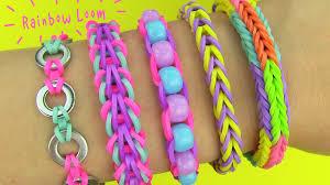 diy 5 easy rainbow loom bracelets without a loom diy loom bands