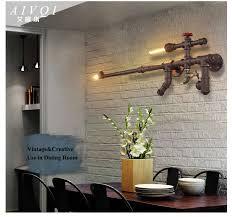 creative home lighting. aliexpresscom buy loft industrial wall lamps creative home lighting for restaurantbaraislecorridorbalcony vintage pipe light rust color from i