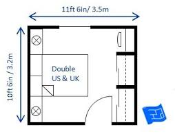 This 10ft 6in X 11ft 6in 3 2 X 3 5m Double Bedroom Is A