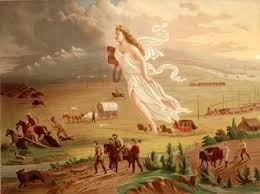 manifest destiny for kids  manifest destiny picture american progress spirit of the frontier