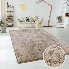 Shaggy Teppich Micro Polyester Wohnzimmer Schlafzimmer