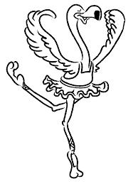 Ballet Kleurplaat Sport Kleurplaat Animaatjesnl