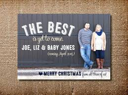 Christmas Card And Pregnancy Announcement New Pregnancy Announcement