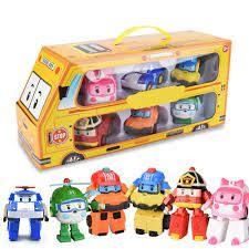 Báo giá Bộ 6 Chiếc Xe Khai Thác Cho Trẻ Em Đồ Chơi Robot Biến Đổi Xe Phim  Hoạt Hình Hoạt Hình Đồ Chơi Mô Hình Động Cho Trẻ Em chỉ 482.000₫