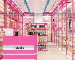 Thiết kế shop mẹ bé BIBABO