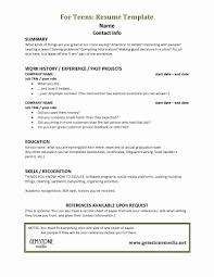 Resume For Teens Magnificent Teenage Resume Sample Awesome How To Write A Resume How To Make A