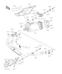 2015 kawasaki ninja 300 ex300afsa muffler s parts best oem muffler s parts diagram for 2015 ninja 300 ex300afsa motorcycles