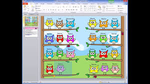 Owl Friends Interactive Attendance Sheet How To Add Student Names