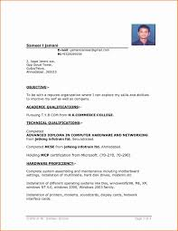 Simple Resume Format Download In Ms Word Inspirational Free Resume ...
