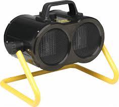 fan with heater. twin turbo workshop portable fan heater with