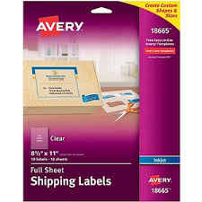 Avery 10 Per Page Labels