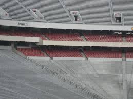 Uga Seating Chart Sanford Stadium Sanford Stadium Section 204 Rateyourseats Com