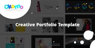 Okomo Creative Portfolio Template Free Download