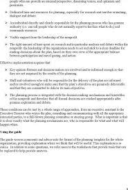 Nonprofit Business Plan Template Download Nonprofit Business Planning Template Guide Template