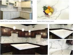 crystal white quartz countertop kitchen solid stone artificial material fashion blue color