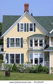 pale yellow exterior paint colors. front of a yellow house and blue sky stock photo 57140407 . pale exterior paint colors