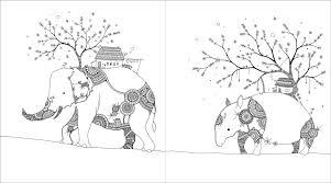 かめいち堂 Coloring Book おもしろ動物園 玄光社mook