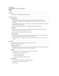 Resumes Templates For Students With No Experience Httpwww High