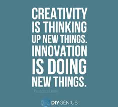 Innovation Quotes Adorable Innovation Is Doing New Things Theodore Levitt DIY Genius