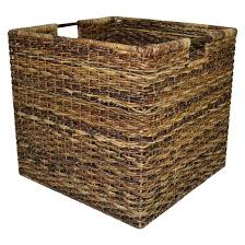Wicker Extra Large Milk Crate - Dark Global Brown - Threshold