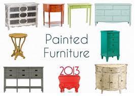 home trend furniture. 5. Painted Vintage Furniture Home Trend