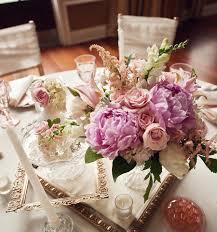 ... Interesting Accessories For Wedding Table Decoration With Pink And  White Flower Wedding Centerpiece : Cool Picture ...