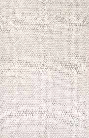 textured tone on tone ivory gray wool area rug vyssa