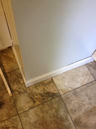Quarter Round Kitchen Cabinets Kitchen Floor The Finishing Touches Hoosier Remodel