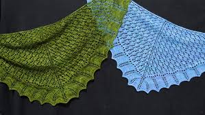 Knitted Shawl Patterns Impressive Knitting Patterns Galore Calais Shawl