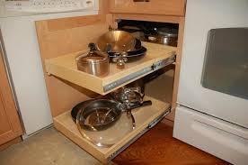 Blind Corner Cabinet Pull Out Shelves Kitchen Cabinet Blind Corner Shelves Solutions With Shelf Decor 100 2