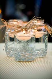 Glass Jar Table Decorations 100 Beautiful Mason Jars Wedding Decoration Ideas You Can Copy 40