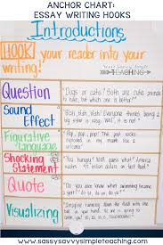 Anchor Charts For Writing The Best Anchor Charts Sassy Savvy Simple Teaching