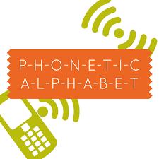 Telephony Alphabet Chart Phonetic Alphabet