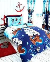 pirate cot bedding pirate bedding pirates bedroom set bedroom dark and light blue bedding set and